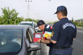 Jandarma'dan 'Uçangöz'le trafik denetimi
