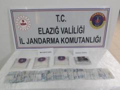 Elazığ'da uyuşturucuyla yakalanan 1 şüpheli tutuklandı