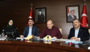 """Bakan Soylu: """"3 Şubat'ta açılacak olan okullar, Elazığ'ın tamamında 10 Şubat'ta açılacak"""""""