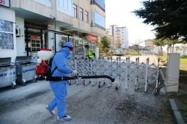 Elazığ'da korona virüse karşı mücadele