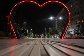 Elazığ'da koronaya karşı gece kısıtlaması, sokaklar boş kaldı