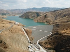 Elazığ'ın içme suyu projesinde ana isale hattında son 700 metre