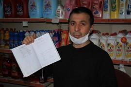 Gizli hayırsever bakkal bakkal gezip 15 bin TL'lik borç ödedi