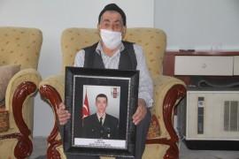 """Şehit babasından, """"Milli Dayanışma"""" kampanyasına destek"""
