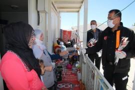 Elazığ'da Anneler Günü ziyaretleri