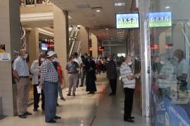 Elazığ'da vatandaşın elektrik faturası kuyruğu
