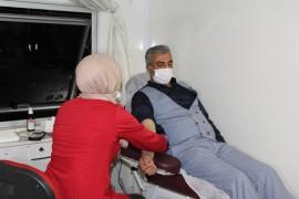 Elazığ'dan kan bağışı desteği sürüyor