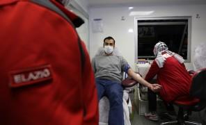 Suriye ve Afganlı vatandaşlardan Türk Kızılayı'na kan bağışı desteği
