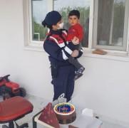 Toruna şehirler arası doğum günü sürprizi Mehmetçik'ten