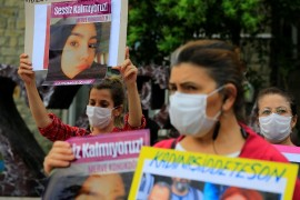 Elazığ'da kadınlardan Merve cinayetine tepki