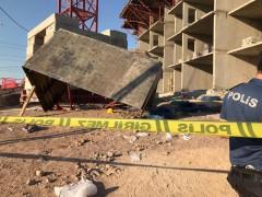 Elazığ'da 5'inci kattan işçiler iskeleyle düştü: 5 yaralı