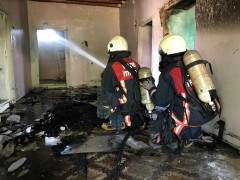 Elazığ'da ateşin kahramanı itfaiyeciler, haftada 160 yangına müdahale ediyor
