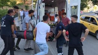 Elazığ'da uçurumdan düşen genç yaralandı