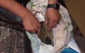 Elazığ'da uyuşturucu taciri suç üstü yakalandı