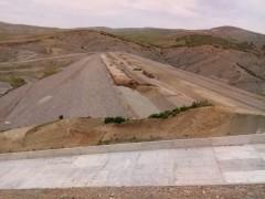 Kanatlı Barajı'nın yapım çalışmaları sürüyor
