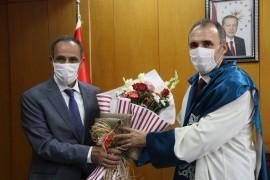 FÜ'nün yeni rektörü Prof. Dr. Göktaş göreve başladı