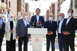 """Bakan Kurum: Elazığ ve Malatya'da yapılan işlerin mali tutarı yaklaşık 7 milyar lirayı buluyor"""""""