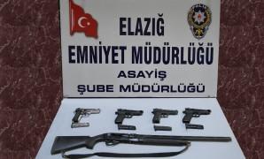 Elazığ'da bir haftada 16 şüpheli tutuklandı