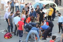 Elazığ'da otomobil ile motosiklet çarpıştı, kurye hayatını kaybetti