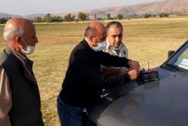 Elazığ'da yasak cihazla avlanan 2 şahsa işlem yapıldı