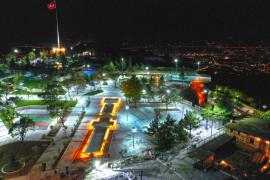 Elazığ Balakgazi Parkı ve Cam Seyir Terası Projesi bitme aşamasına geldi
