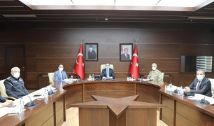 """Elazığ'da """"En İyi Narkotik Polisi, Anne"""" projesi  toplantısı"""