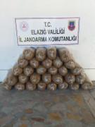 Elazığ'da 150 kilogram kaçak tütün elegeçirildi