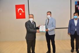 """Elazığ'da 44 okula """"Okulum Temiz"""" belgesi verildi"""
