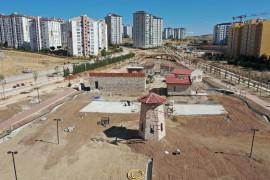 """Elazığ'da """"Kent-Köy"""" projesinin inşa çalışması bitti"""