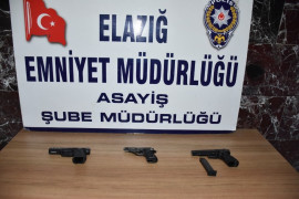 Elazığ'da çeşitli suçlardan aranan 15 şüpheli tutuklandı