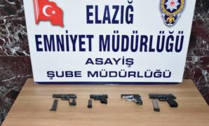 Elazığ'da çeşitli suçlardan aranan 17 şüpheli tutuklandı