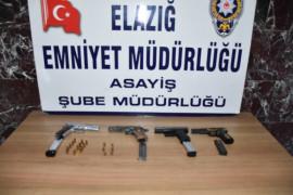 Elazığ'da çeşitli suçlardan aranan 9 şüpheli tutuklandı