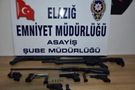 Elazığ'da son bir haftada 14 şüpheli tutuklandı