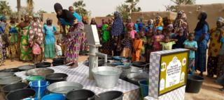 Elazığ'dan şehitler adına Mali'de  su kuyusu açıldı