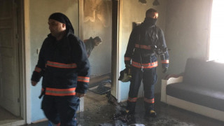 Elazığ'da yangında 8 aylık bebek öldü, 2 çocuk yaralandı