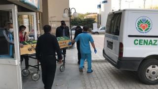 Elazığ'da yangında ölen 2 kardeş, tek tabutta son yolculuğuna uğurlandı