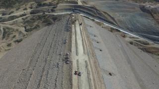 Kanatlı Barajı'nda sona gelindi, su tutma işlemi başlatılıyor
