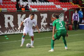 2. Lig: Elazığspor: 0 – Kırklarelispor: 1
