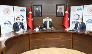 Elazığ'da iki projenin sözleşmesi imzalandı