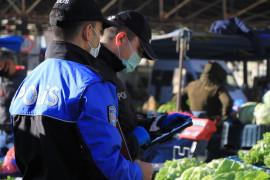 Elazığ'da pazarcılara HES kodu denetimi