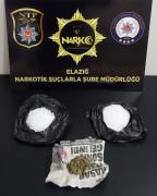Elazığ'da uyuşturucu taciri 2 şüpheli yakalandı