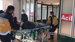 Elazığ'da inşaatın 3'üncü katından düşen genç yaralandı