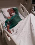 Kalp krizi geçiren Şehit Fethi Sekin'in babası anjiyo oldu