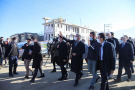 CHP heyeti, deprem bölgesi Elazığ'da çalışmaları yerinde inceledi