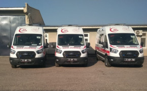 Elazığ'da 4 yeni ambulans hizmete girdi