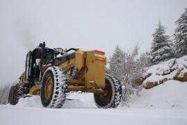 Elazığ'da kar, bir gecede 441 köy yolunu kapattı