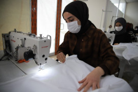 Elazığ'da üretiliyor, Avrupa ve ABD'li sağlıkçılara gönderiliyor