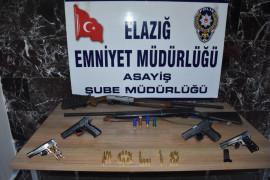 Elazığ'da aranan 33 şüpheli yakalanıp, tutuklandı