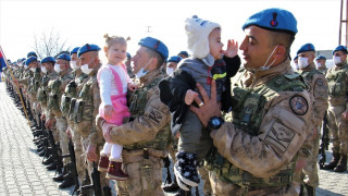 Bir tarafta gurur, bir tarafta hüzün, JÖH timleri Suriye'ye uğurlandı