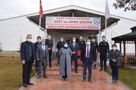 Elazığ'da  Sağlık Afet Koordinasyon Merkezi hizmete girdi